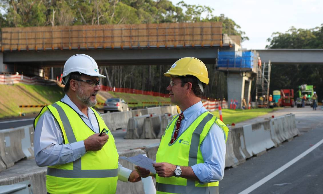 FUNDING: National MP David Gillespie has been resolute that the NSW government needs to fast track their planning and EIS so work on the M1 upgrade can begin. Picture: Supplied