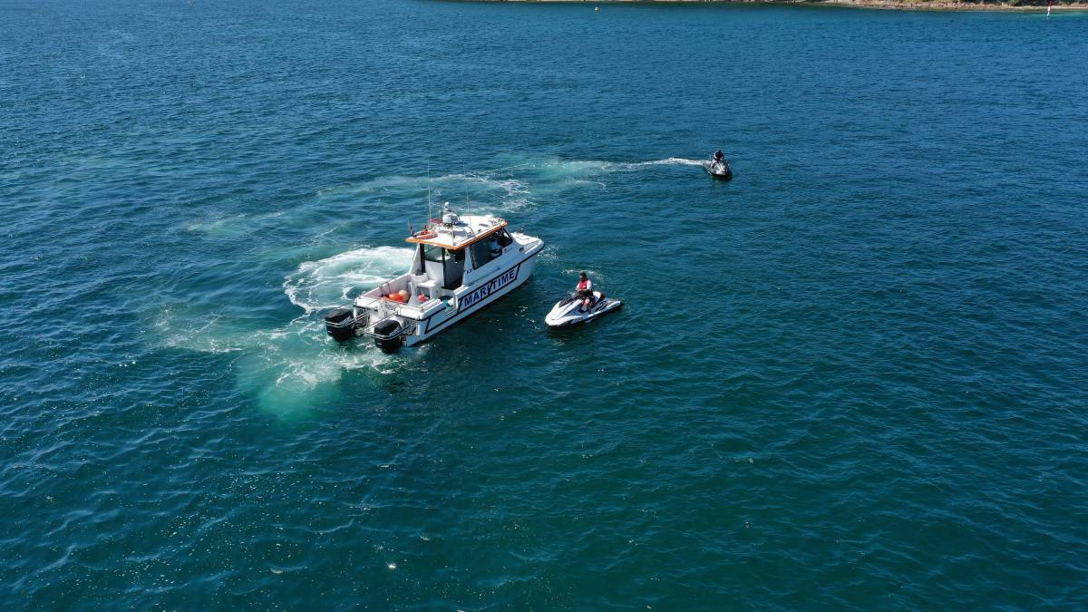 INFLUX: NSW Maritime completed a compliance and education operations in Port Stephens this month focused on jet skis.