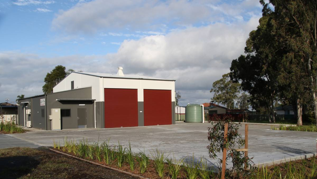The Karuah Rural Fire Brigade station in Engel Avenue. Picture: Supplied