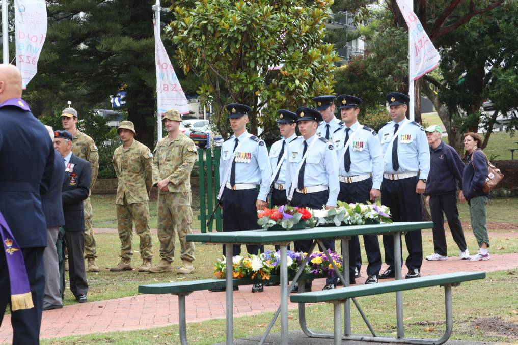 LEST WE FORGET: Remembrance Day service at Apex Park, Nelson Bay.